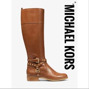 Michael Kors Preston Leather Boots✨Brand NEW